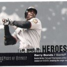 BARRY BONDS 2002 Upper Deck Piece Of History Tape Measure INSERT Card #TM25 San Francisco Giants