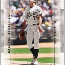 BARRY ZITO 2003 Upper Deck Patch Collection SHORT PRINT Card #81 Oakland A's FREE SHIPPING Baseball