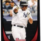 CURTIS GRANDERSON 2011 Bowman Card #22 New York Yankees FREE SHIPPING Baseball 22