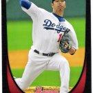 HIROKI KURODA 2011 Bowman Card #147 Los Angeles Dodgers FREE SHIPPING Baseball 147