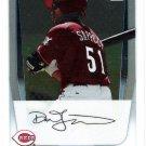 DAVE SAPPELT 2011 Bowman CHROME Prospects 1st ROOKIE Card #BCP37 Cincinnati Reds FREE SHIPPING
