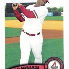 JUAN MIRANDA 2011 Topps Card #606  Arizona Diamondbacks FREE SHIPPING Baseball 606