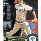 LUKE GREGERSON 2011 Topps Card #561 San Diego Padres FREE SHIPPING Baseball 561