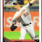 ZACH BRITTON 2011 Topps Lineage ROOKIE Card #61 Baltimore Orioles FREE SHIPPING 61 Baseball RC