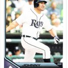 JOHNNY DAMON 2011 Topps Lineage Card #151 Tampa Bay Rays FREE SHIPPING 151 Baseball