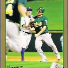 ERIC CHAVEZ 2009 Topps GOLD INSERT Card #495 Oakland A's #'d 625/2009 FREE SHIPPING 495