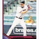 CHIPPER JONES 2011 Topps Lineage Card #115 Atlanta Braves FREE SHIPPING Baseball 115
