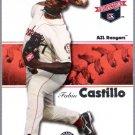 FABIO CASTILLO 2008 Tristar Projections ROOKIE Card #278 Texas Rangers SASE AZL Ranges 278