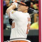 CHRIS DAVIS 2012 Topps RED Border PARALLEL Card #151 Baltimore Orioles FREE SHIPPING Target Insert
