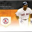 JIM RICE 2012 Topps Golden Moments INSERT Card #GM-16 Boston Red Sox FREE SHIPPING 16