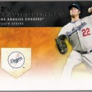 CLAYTON KERSHAW 2012 Topps Golden Moments INSERT Card #GM-7 Los Angeles Dodgers FREE SHIPPING GM7