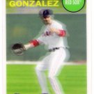 ADRIAN GONZALEZ 2011 Topps Lineage 3D INSERT Card No# BOSTON RED SOX Baseball FREE SHIPPING nno