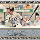B.J. UPTON 2011 Topps Allen & Ginter BLACK Border Mini INSERT Card #236 Tampa Bay Rays FREE SHIPPING