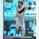 TODD HELTON 2011 Topps Lineage Diamond Anniversary REFRACTOR Insert Card #118 Colorado Rockies