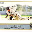 CARLOS GOMEZ 2011 Topps Allen & Ginter SHORT PRINT Insert Card #331 Milwaukee Brewers FREE SHIPPING