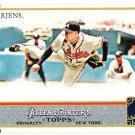 JAIR JURRJENS 2011 Topps Allen & Ginter Code INSERT Card #126 Atlanta Braves FREE SHIPPING Baseball