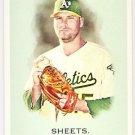 BEN SHEETS 2010 Topps Allen & Ginter SHORT PRINT Insert Card #339 Oakland A's FREE SHIPPING Baseball