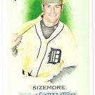 SCOTT SIZEMORE 2010 Topps Allen & Ginter SHORT PRINT ROOKIE Card #320 Detroit Tigers FREE SHIPPING