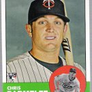 CHRIS PARMELEE 2012 Topps Heritage ROOKIE Card #40 Minnesota Twins FREE SHIPPING Baseball