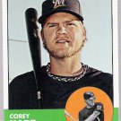 COREY HART 2012 Topps Heritage SHORT PRINT Card #414 Milwaukee Brewers FREE SHIPPING Baseball 414 SP