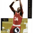 AKEEM OLAJUWON 1993-94 Classic Images Four Sport Acetates INSERT Card #4 Houston Rockets Basketball