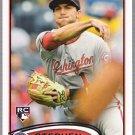 STEPHEN LOMBARDOZZI 2012 Topps ROOKIE Card #134 Washington Nationals FREE SHIPPING Baseball