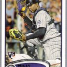 WILIN ROSARIO 2012 Topps ROOKIE Card #184 Colorado Rockies FREE SHIPPING Baseball 184 RC