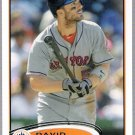 DAVID WRIGHT 2012 Topps Card #240 New York Mets FREE SHIPPING Baseball 240