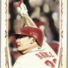 JAY BRUCE 2011 Topps Allen & Ginter Baseball Highlight Sketches INSERT Card #BHS2 Cincinnati Reds