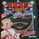 CINCINNATI REDS 2009 Baseball Season Pocket Schedule Frisch Great American Ballpark FREE SHIPPING