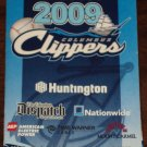 COLUMBUS CLIPPERS 2009 Pocket Schedule FIRST Season At Huntington Park CLEVELAND INDIANS Baseball