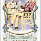 DR WATSON 2011 Topps Allen & Ginter Portraits Of Penultimacy Mini INSERT Card #PP3 FREE SHIPPING