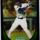DEE GORDON 2011 Bowman CHROME Draft PURPLE REFRACTOR Rookie Card #40 Los Angeles Dodgers