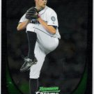 TOM WILHELMSEN 2011 Bowman CHROME ROOKIE Card #97 Seattle Mariners FREE SHIPPING Baseball 97