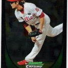 MICHAEL STUTES 2011 Bowman CHROME ROOKIE Card #84 Philadelphia Phillies FREE SHIPPING Baseball RC