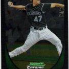 ALAN JOHNSON 2011 Bowman CHROME ROOKIE Card #53 Colorado Rockies FREE SHIPPING Baseball