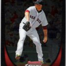 JON LESTER 2011 Bowman CHROME Card #35 Boston Red Sox FREE SHIPPING Baseball 35