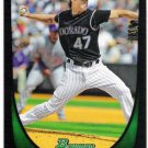 ALAN JOHNSON 2011 Bowman Draft ROOKIE Card #53 Colorado Rockies FREE SHIPPING Baseball 53