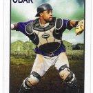 CARLOS SANTANA 2010 Tristar Obak Card #14 CLEVELAND INDIANS Baseball FREE SHIPPING 14
