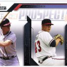 DALE MURPHY & MICHAEL MINOR 2009 Tristar Prospects Plus Diamond Duos Card #86 ATLANTA BRAVES