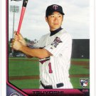 TSUYOSHI NISHIOKA 2011 Topps Lineage ROOKIE Card #24 MINNESOTA TWINS Baseball FREE SHIPPING