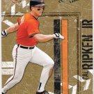 CAL RIPKEN JR 2004 Donruss Leather & Lumber Card #18 BALTIMORE ORIOLES Baseball FREE SHIPPING 18