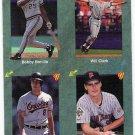 CAL RIPKEN JR 1991 Classic Green Card No # BALTIMORE ORIOLES Baseball NNO FREE SHIPPING