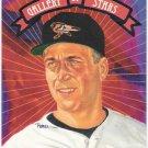 CAL RIPKEN JR 1993 Donruss Gallery Of Stars INSERT Card #GS-11 BALTIMORE ORIOLES FREE SHIPPING