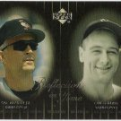 CAL RIPKEN JR & LOU GEHRIG 2000 Upper Deck Reflections In Time INSERT Card #R8 BALTIMORE ORIOLES