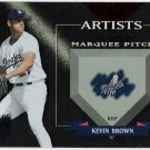KEVIN BROWN 2002 Donruss Best Of Fan Club Artist INSERT Card #'d 54/300 LOS ANGELES DODGERS #A-3