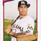 GIANCARLO STANTON 2012 Topps Archives Card #130 MIAMI MARLINS Baseball FREE SHIPPING Mike 130