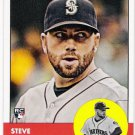 STEVE DELABAR 2012 Topps Heritage ROOKIE Card #358 SEATTLE MARINERS Baseball FREE SHIPPING RC 358