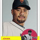 JOHAN SANTANA 2012 Topps Heritage Card #93 NEW YORK METS Baseball FREE SHIPPING 93