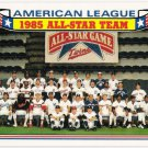 AMERICAN LEAGUE ALL STAR TEAM 1986 Topps Glossy All Stars Card #11 Baseball FREE SHIPPING 11